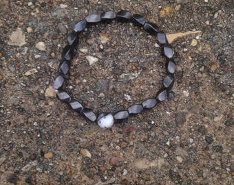 Hematite Crystal Healing Necklace