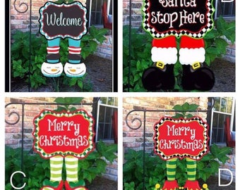 Christmas Garden Flags/Door Decor sale ENDS 7/28/17