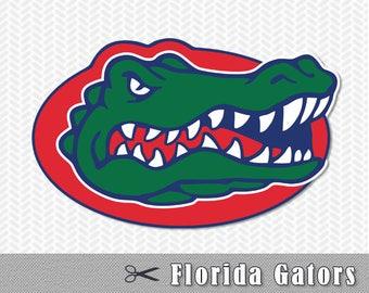 Florida Gators Layered SVG Dxf Logo Vector File Silhouette Studio Cameo Cricut Design space Template Stencil Vinyl Decal Tshirt Craft Tshirt