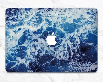 Sea Wave Decal Mac Pro Skin Laptop Skin MacBook Pro 15 Mac Pro Decal MacBook Air 13 Pro Retina Ocean MacBook Pro 2017 Mac Pro Sticker Cover