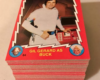 Buck Rogers Complete 88 Card Set