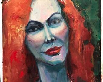 Portrait of a Woman Original Painting