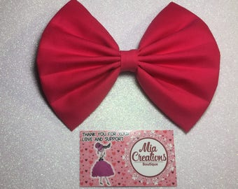 Poppin Pink Lady Bow .