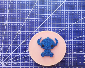 Flexible silicone mold Stitch!