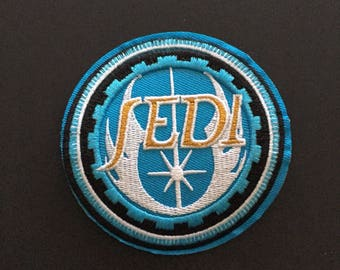 "Jedi Alliance Iron on Embroidered patch (3.25"")"