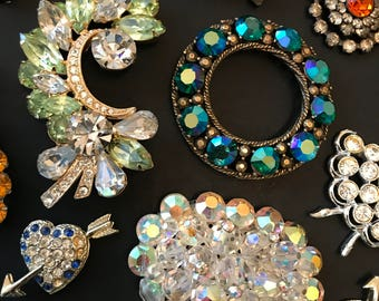 Imperfect vintage jewelry for the artist