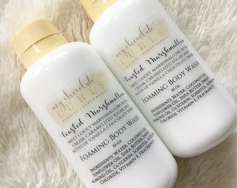 Marshmallow, Foaming Body Wash, Body Wash, Soap, Liquid Soap, Bath wash, Bath and Body, Dessert Beauty, Skin Care, Beauty, Moisturizer, Soap