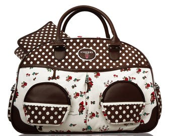 Anberry Red Riding Hood diaper bag in Brown / diaper bag in Brown