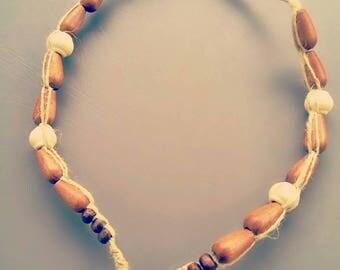 Handmade Hemp Choker
