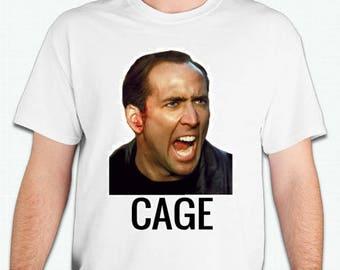 Nicolás Cage Tshirt Nicholas cage shirt