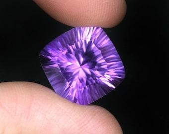 15.4 ctw. purple amethyst loose gemstone .
