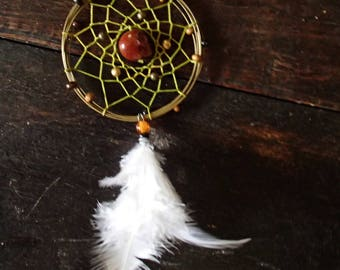 Indian dream catcher necklace
