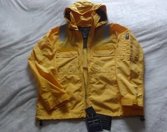 Deadstock Nwt XL Polo Sport Ralph Lauren fireman style windbreaker jacket