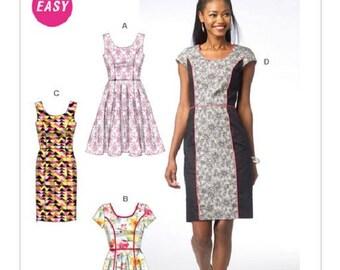 McCall's 6887 - Princess Seam Dress Pattern