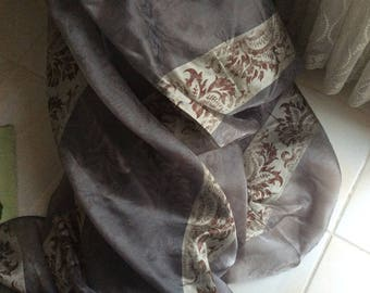Sheer 300 cm height about grey and beige