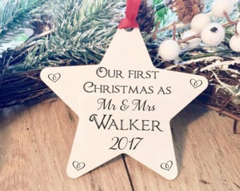 Personalised Christmas decoration, family, decoration, christmas tree, decoration, ornament, personalised