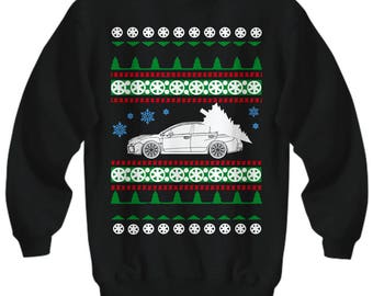 Subaru WRX STI Ugly Christmas Sweater Holiday boost racecar boosted fast cars enthusiast  trackday race drifting