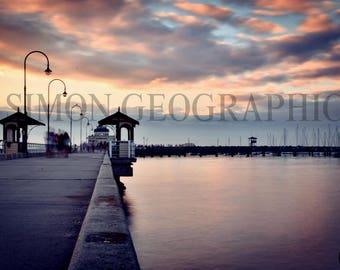 Canvas Print Photograph - Melbourne, Australia
