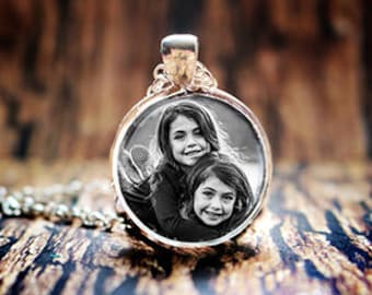 Personalized Necklace, Custom Necklace, Photo Necklace