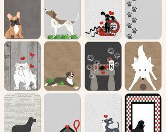 Dog Daze Cute Cards