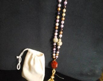 Mala Beads, Mediation, Prayer Beads or Tassel Beads, Hand Knotted