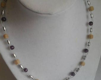 Beaded and Wired Choker
