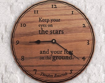 Inspiring Quotes - Quotes on Imagination - Dream Big - Quote from Theodore Roosevelt - Keep Your Eyes on the Stars Quote - Teddy Roosevelt