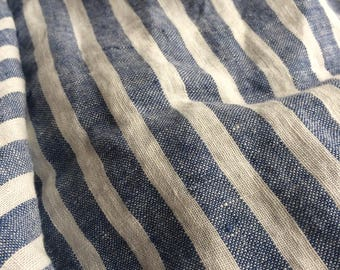 Wide Stripe Fabric Etsy