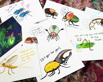 Bug Nerd Valentines Cards - Printable Valentine - Entomology Card Set - Entomologist Valentine - Biology Greeting Card  - Joke Valentine