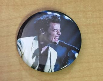 Harry Styles 2.25 inch Pinback Button-Two Ghosts