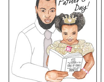 King of King Father Day Card
