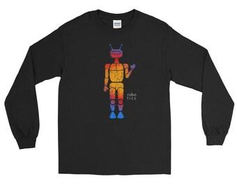 Robot Builder Unisex Long Sleeve T-Shirt Robotics Engineer Love Science