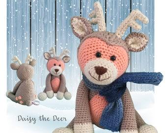 Daisy the Deer - Crochet Amigurumi Digital Downloadable Pattern PLUS OWL Pattern