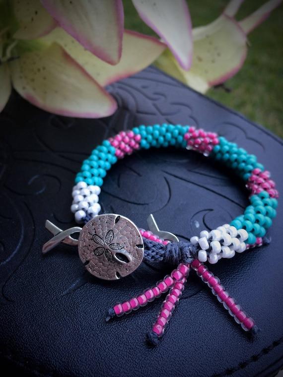 Children's Kumihimo Bracelet