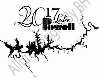 Custom Lake Powell T-Shirt-Front