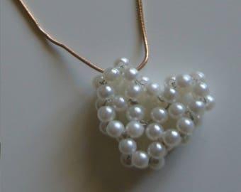 heart pendant Choker Necklace (ref 3)