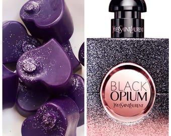 Black Opium (type) Perfume Soy Wax Melts - Pack of 4