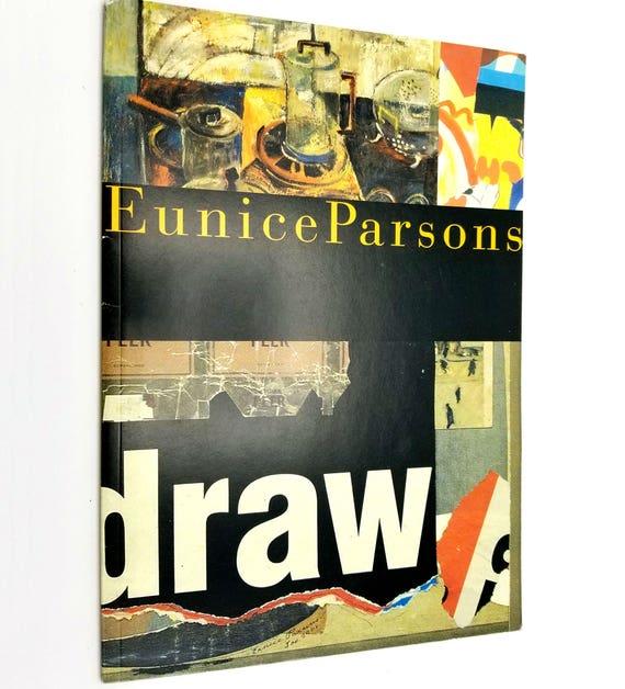 Eunice Parsons: Carpe Diem 2001 Signed Exhibit Catalog Portland Oregon Mixed Media Collage Artist