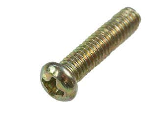 100 Iron sink-metal screws, 18 x 6 mm, bronze