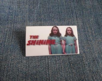 Handmade The Shining Twins 1980 Horror Film Jack Nicholson Badge