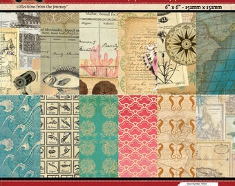 7gypsies Maritime 6x6 Paper Pad