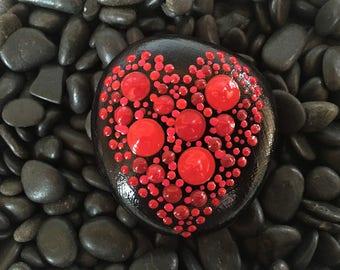 Art Rocks!  #13/18 Heart TouchStone™