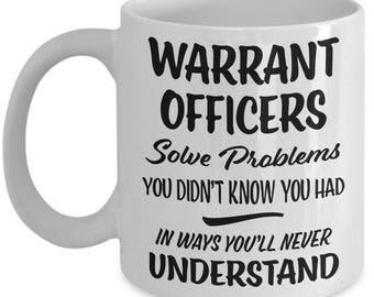 Warrant Officer Mug - Warrant Officer Gift - Funny Gift - Gag Joke Coffee Cup