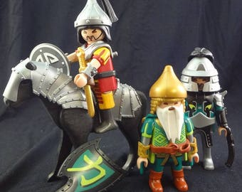 Playmobil, Dragon Knights, Asian Playmobil, Male Playmobil, Playmobile, Samurai Playmobil