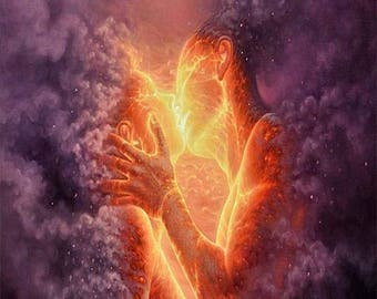 Twin Flame Love -Powerful Distance Reiki Healing session, Digital Email summary of Chakras. Certified Reiki Master