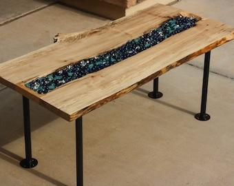 Handmade River Coffee Table