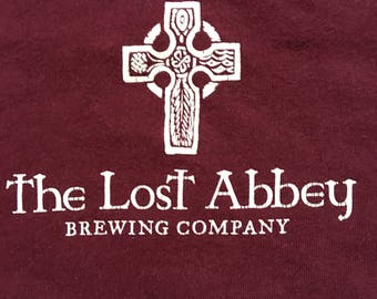 The Lost Abbey brewing company shirt-craft beer
