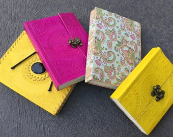 Leather journals and diaries