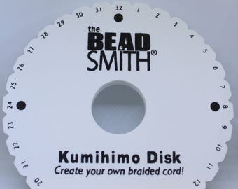 The Bead Smith Kumihimo Disk Round - MISC 001