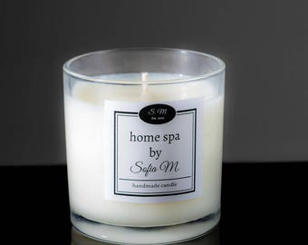 Handmade Soy Candle GRAPEFRUIT SQUEEZE 9 oz